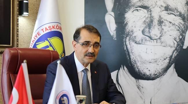 Enerji Bakanı Bakanı Fatih Dönmez'den yerli kömür açıklaması
