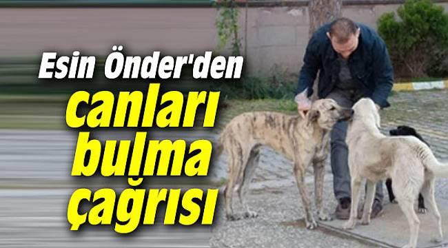 Esin Önder'den canları bulma çağrısı