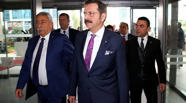 TOBB Başkanı Hisarcıklıoğlu'ndan Kılıçdaroğlu'na ziyaret
