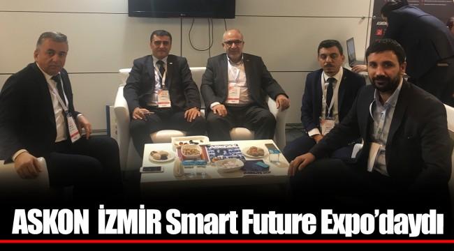 ASKON İZMİR Smart Future Expo'daydı