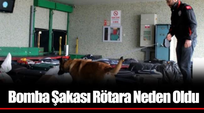 Bomba Şakası İzmir-İstanbul Seferinde Rötara Neden Oldu