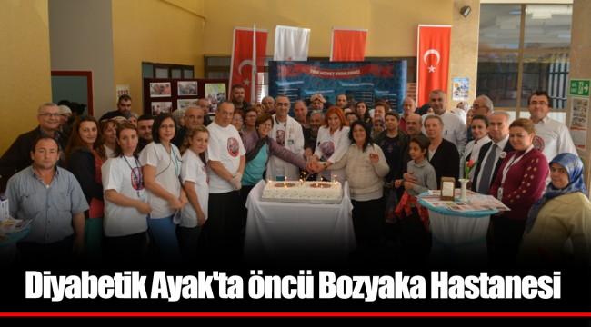 Diyabetik Ayak'ta öncü Bozyaka Hastanesi