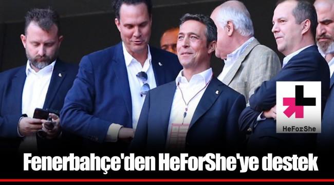 Fenerbahçe'den HeForShe'ye destek