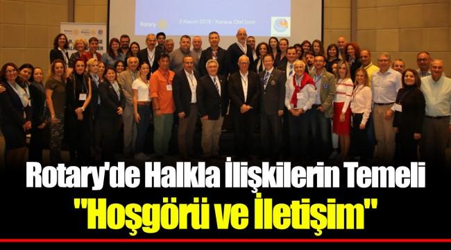Rotary'de Halkla İlişkilerin Temeli