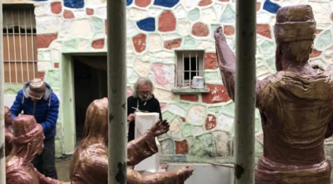 72 yıllık cezaevi, sanatçılara atölye oldu