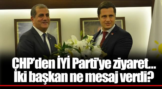 CHP'den İYİ Parti'ye ziyaret... İki başkan ne mesaj verdi?