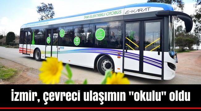 İzmir, çevreci ulaşımın
