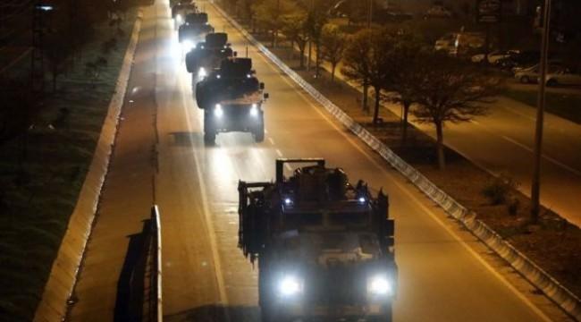 Suriye sınırına askeri sevkiyat: Konvoy Elbeyli'ye ulaştı