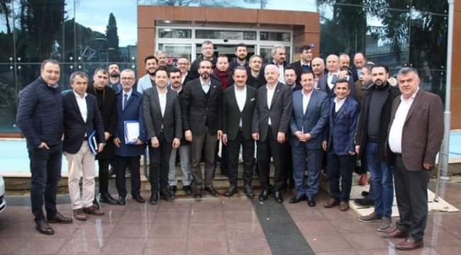 Ak Parti Ege Koordinatörü Özdemir;