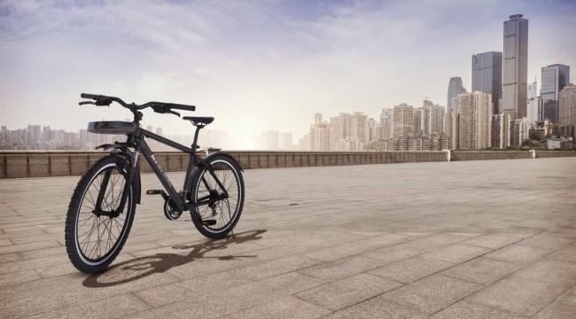 Araç plakalarını tanıyan devriye bisikleti geliştirdi