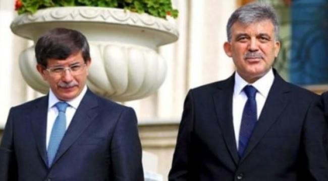 Flaş iddia: Abdullah Gül ve Ahmet Davutoğlu o partiye mi geçecek?