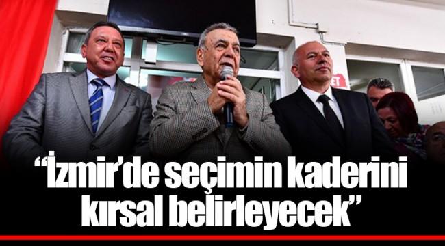 """""""İzmir'de seçimin kaderini kırsal belirleyecek"""""""
