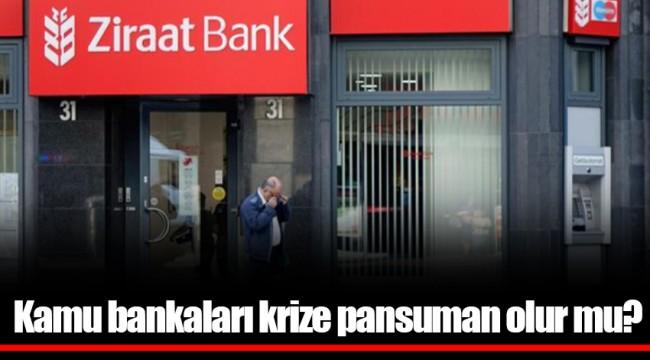 Kamu bankaları krize pansuman olur mu?