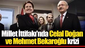 Millet İttifakı'nda Celal Doğan ve Mehmet Bekaroğlu krizi