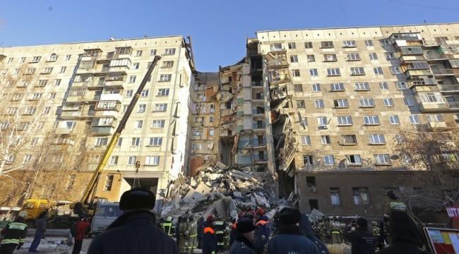 Rusya'daki doğalgaz patlamasında ölü sayısı artıyor