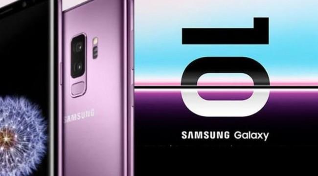 Samsung Galaxy S10 için tarih verdi
