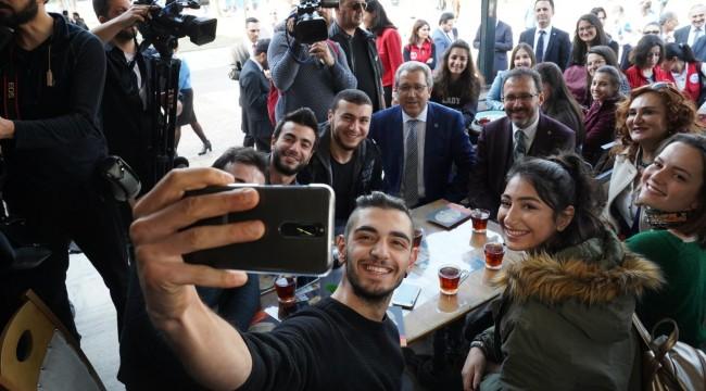 Bakan Kasapoğlu'ndan Ege Üniversitesi'ne ziyaret