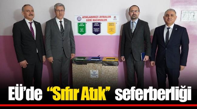 """EÜ'de  """"Sıfır Atık''  seferberliği"""