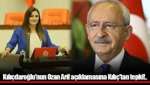 Kılıçdaroğlu'nun Ozan Arif açıklamasına Kılıç'tan tepki!..