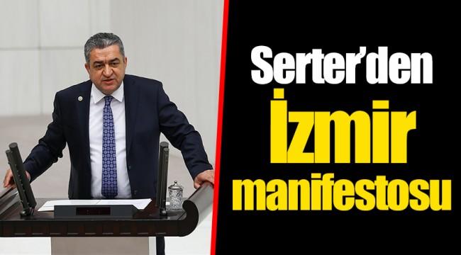 Serter'den İzmir manifestosu