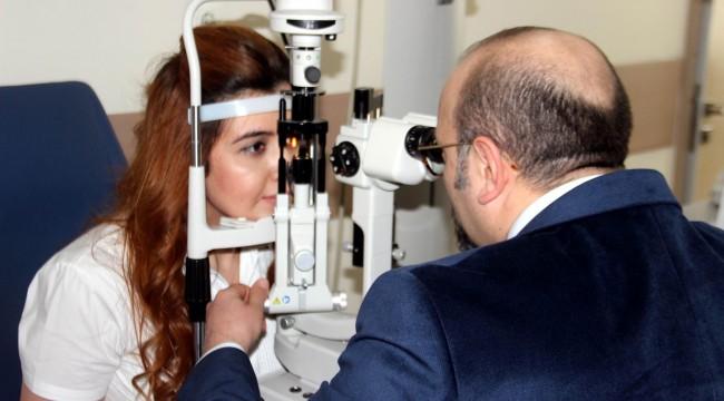40 yaş üstü hastalar göz tansiyonuna dikkat