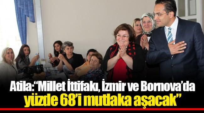 """Atila: """"Millet İttifakı, İzmir ve Bornova'da yüzde 68'i mutlaka aşacak"""""""