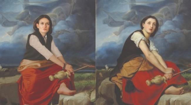 Dünyaca ünlü tablolar bu sergide hayat buluyor