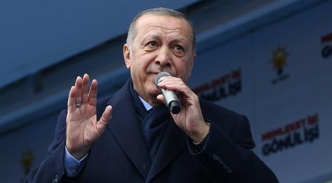 Erdoğan: 'Esenboğa Havalimanı'nı biz yaptık'