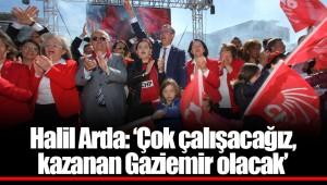 Halil Arda: 'Çok çalışacağız, kazanan Gaziemir olacak'