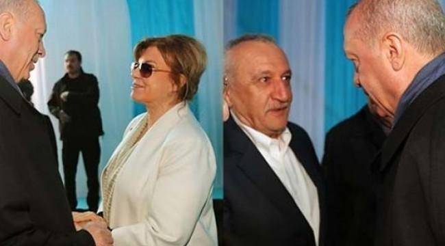 Tansu Çiller ve Mehmet Ağar AK Parti-MHP mitingine katıldı