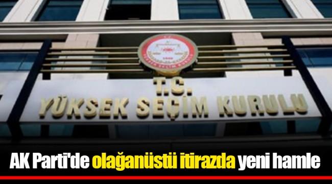 AK Parti'de olağanüstü itirazda yeni hamle