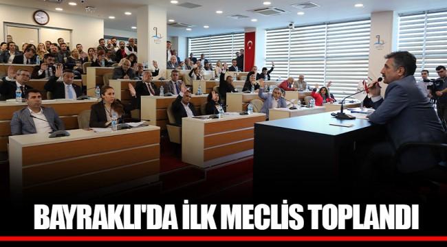 BAYRAKLI'DA İLK MECLİS TOPLANDI