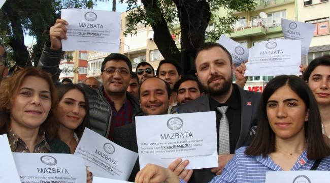 """CHP Buca Gençlik Kolları:  """"Ekrem İmamoğlu'nun bir an önce mazbatasının verilmesini talep ediyoruz"""""""