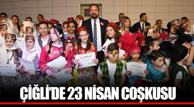 ÇİĞLİ'DE 23 NİSAN COŞKUSU