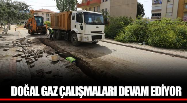DOĞAL GAZ ÇALIŞMALARI CUMHURİYET MAHALLESİ'NDE DEVAM EDİYOR