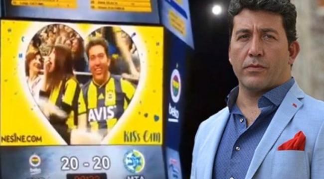 Emre Kınay Kiss Cam'e yakalandı