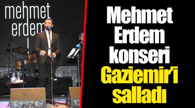 Mehmet Erdem konseri Gaziemir'i salladı