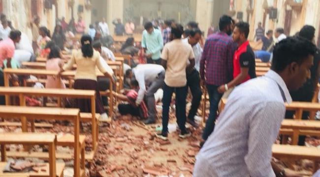 Sri Lanka'da kiliseler ve otellerde patlama: 156 ölü, yüzlerce yaralı