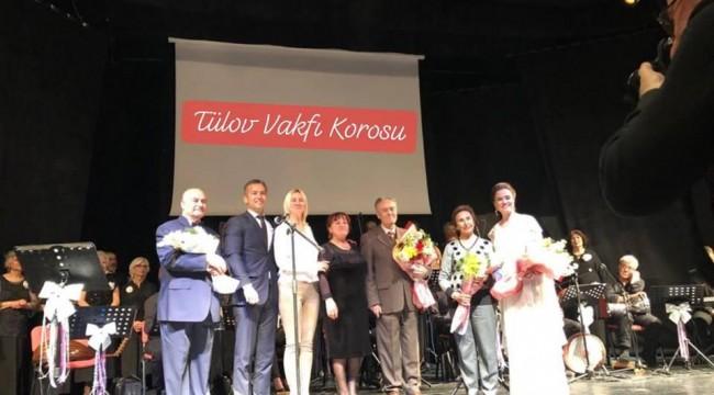 TÜLOV Korosu'ndan konser ziyafeti