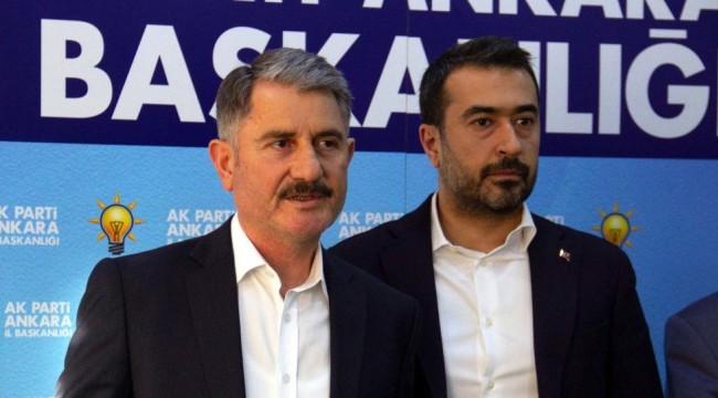 AK Partili Ankara Pursaklar Belediye Başkanı Yılmaz istifa nedenini açıkladı