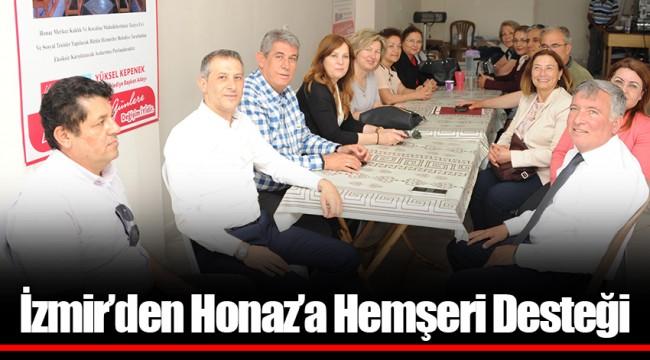 İzmir'den Honaz'a Hemşeri Desteği