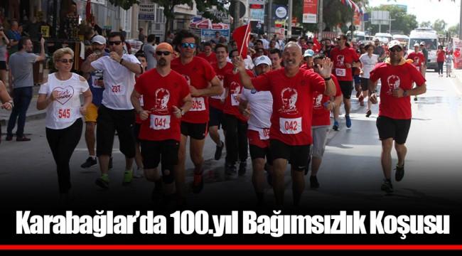 Karabağlar'da 100.yıl Bağımsızlık Koşusu