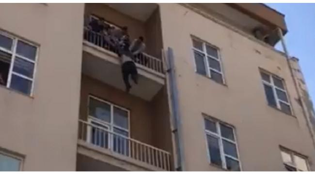 Yeni çocuğu olan adam, ekonomik krizde olduğu gerekçesiyle intihar etmek istedi