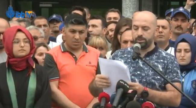 Bir grup İBB çalışanından İmamoğlu protestosu: 'İsraf' diyerek algı operasyonu yapılıyor