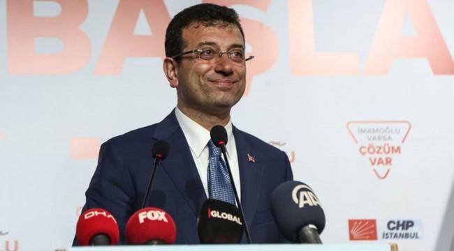 İmamoğlu: 24 Haziran'da İBB'nin seçilmiş bir belediye başkanı olarak yine görevimize döneceğiz