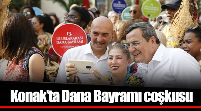 Konak'ta Dana Bayramı coşkusu