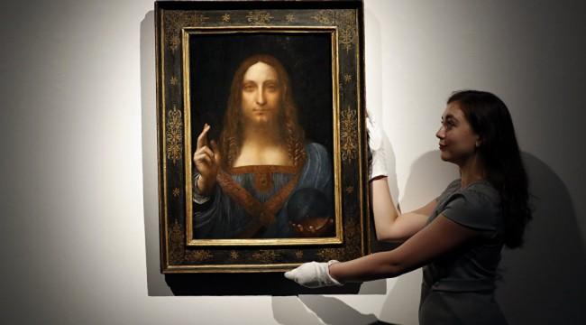 Prens Selman, rekor fiyata satın aldığı Da Vinci'nin İsa'lı tablosunu süper lüks yatına 'hapsetti'