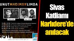 Sivas Katliamı Narlıdere'de anılacak