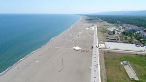 Tamamlandığında Türkiye'nin en uzun plajı olacak