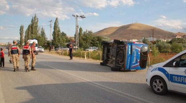 Afşin'de zincirleme kaza: 3'ü asker, 1'i güvenlik korucusu 8 yaralı